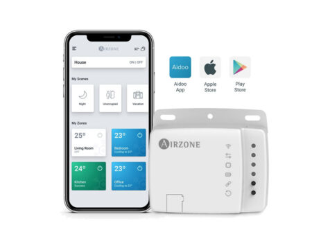 Controla tu aire acondicionado por WIFI con Aidoo Airzone